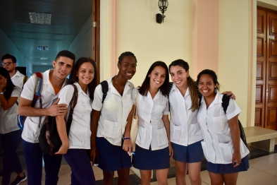 Cuban medical students